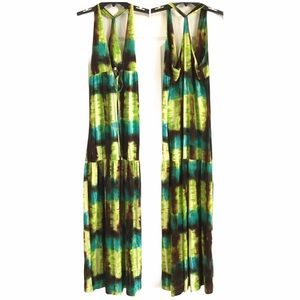 ROMEO & JULIET COUTURE Tie Dye Maxi Dress Size Med